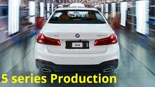 2017 BMW 5 series Production in China
