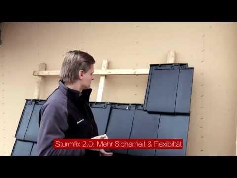 Koramic Dachlösungen - Windsogsicherung Sturmfix 2.0