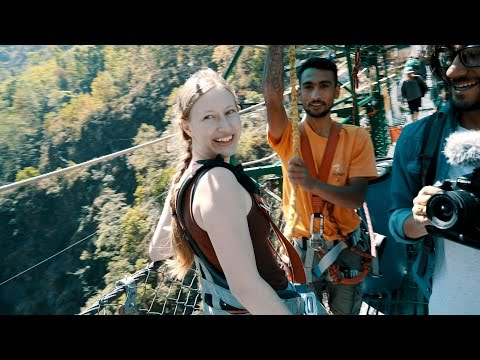 MY FIRST BUNGY JUMP EXPERIENCE | THE LAST RESORT - NEPAL