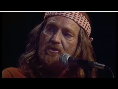 "Willie Nelson  ~  ""Blue Eyes Crying in the Rain"""