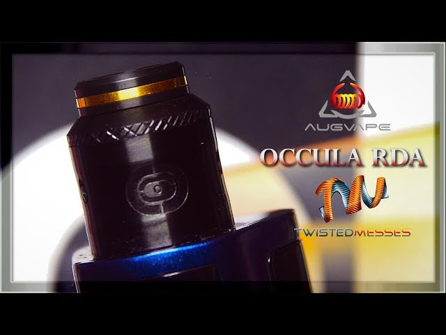THE OCCULA RDA BY AUGVAPE & TWISTED MESSES