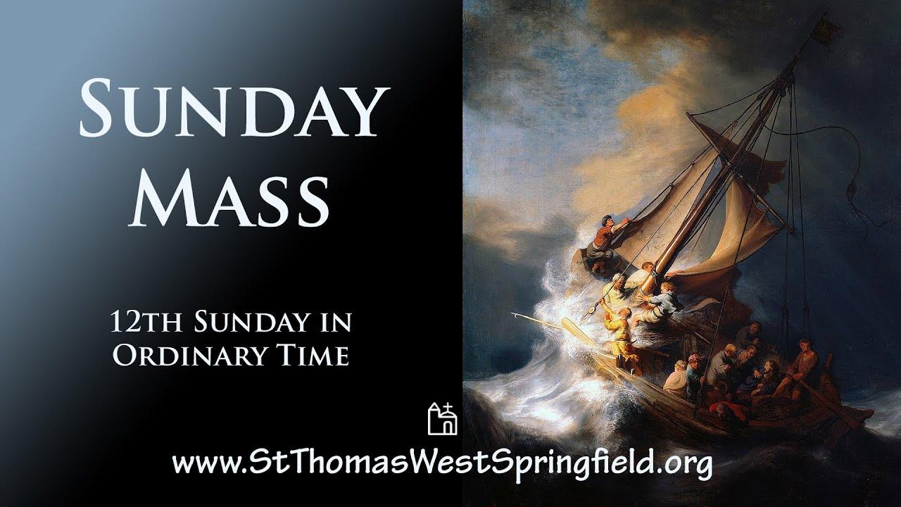 Catholic Sunday Mass, June 20, 2021 Online Mass