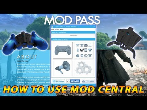 How To Use MOD CENTRAL To Mod The Strikepack F.P.S Dominator by Collective Minds
