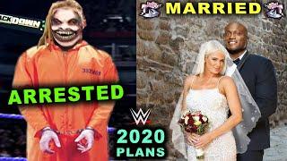 10 Leaked WWE Plans Rumored for 2020 - Bray Wyatt Arrested