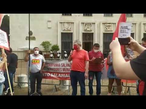 Dr. Carlos Eduardo Pierangelo no Ato do Dia Nacional de Luta contra PEC 32