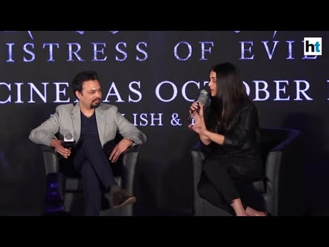Maleficent   Aishwarya shares a 'bizzare' story on how she chose the film