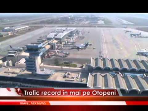 Trafic record in mai pe Otopeni