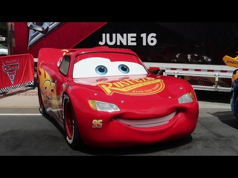 Real Life Cars From Cars 3 The Movie & A Disney Springs Construction Update!