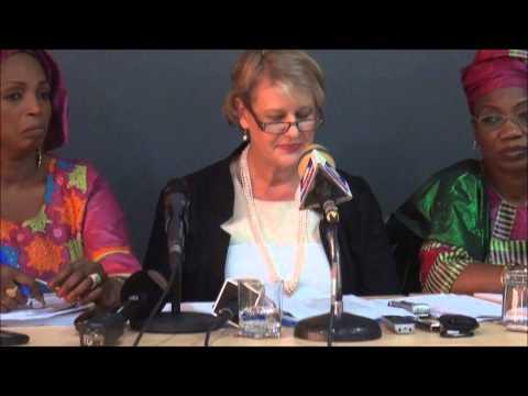 Allocution REP UNFPA: Restitution de l'étude sur les grossesses précoces en milieu scolaire