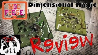🧙♂️Mod Podge Dimensional Magic Review & Trap Tiles For D&D 🧙♂️ (TheDungeonMattster #11)