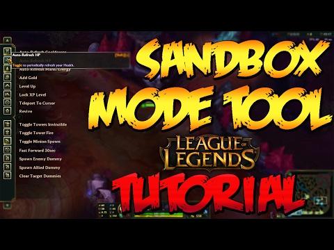 Practice Tool Tutorial - League Of Legends - YouTube