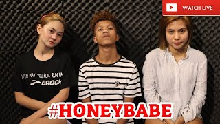 DJ MARIANO, KAT AND ANGEL #HONEYBABE AUGUST 8