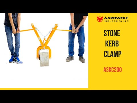 Stone Kerb Clamp ASKC200 - Video 2