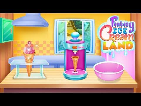 Fantasy Ice Cream Land video