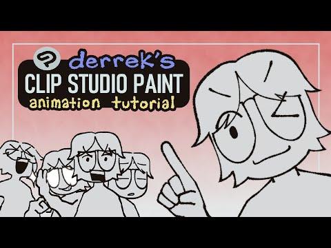 derrek's clip studio paint animation tutorial