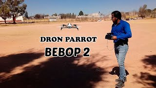 Tutorial mi primer vuelo con el dron parrot bebop 2