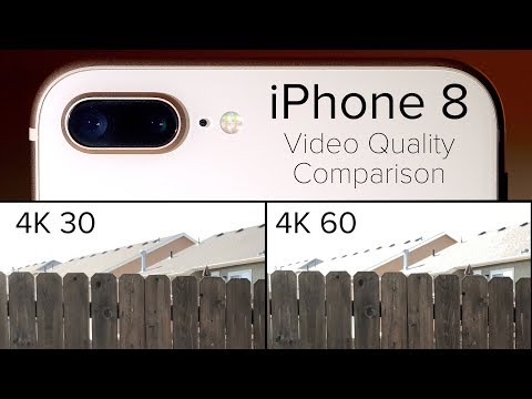 Video: See how iPhone 8 4K 60fps video sacrifices some picture ...