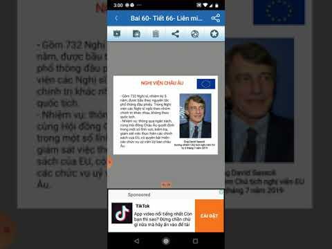 Bài 60- Tiết 66: Liên minh châu Âu