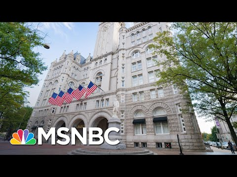 Trump Hotel Gets Another Chance To Cash In On Deluded Extremist Trump Supporters | Rachel Maddow