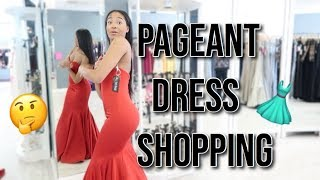 PAGEANT DRESS SHOPPING VLOG!