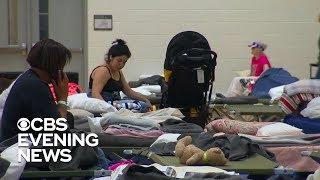 North Carolina shelter taking in hundreds ahead of Hurricane Florence