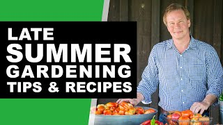 10 Late Summer Gardening Tips & Projects: August 2020 | P. Allen Smith