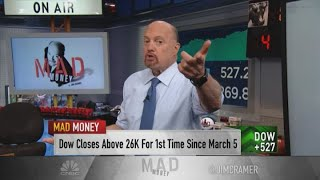 Jim Cramer: The 'V for victory' economy is back in play