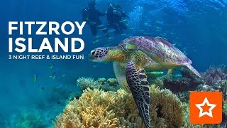 The Fitzroy Island Reef & Island Fun Package offers a magical Tropical Rainforest island experience combined with a daytrip to the Outer Barrier Reef with Sunlover Cruises.