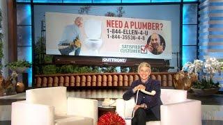 For a Plumber Call… Ellen?
