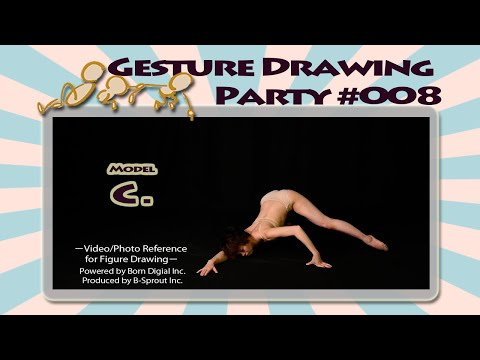 GESture DRAWing Party : #008 C. -Video/Photo Reference for Figure Drawing-