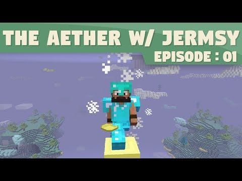 Minecraft Mods - The Aether | 1 | Beautiful Sky Dimension!