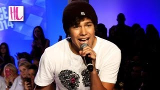 Austin Mahone Performs 'What About Love' Live At Fashion Week NYC  2013