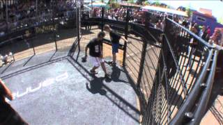 Best Of Panna Knock Out™ 2012 - Chakib el Kaderi (NED) - Mehmet G (NED) - Youth category
