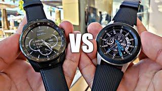 Samsung Galaxy Watch VS TicWatch Pro