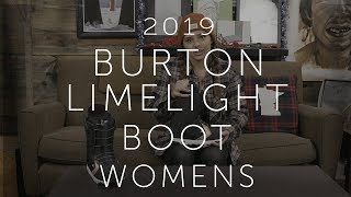 2019 Burton Limelight Womens Snowboard Boot Review