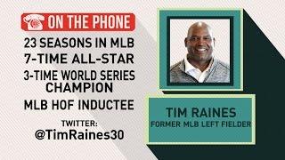 Gottlieb: Tim Raines talks Baseball Hall of Fame