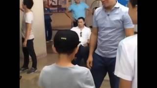 Геннадий Головкин в Астане немного шуток!