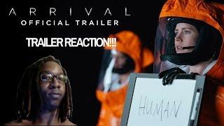Arrival Trailer 1 2016  Paramount Pictures  TRAILER REACTION