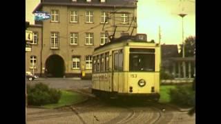 preview picture of video 'Die ehemalige Wuppertaler Straßenbahn - Vintage tram in Wuppertal Germany'