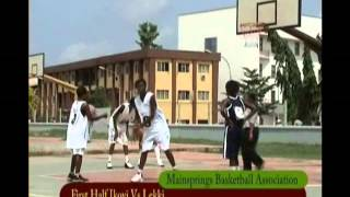 preview picture of video 'Lagos LGA Girls Basketball 2 - First Half'