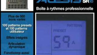 Alesis SR18 - Video