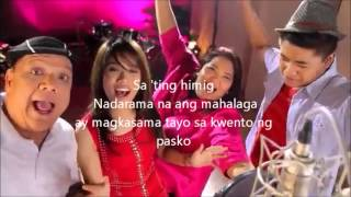 magkasama tayo sa kwento ng pasko with lyrics