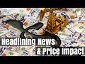 GOLD - USD - Precios del oro y energía