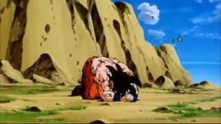 Goku transforms into a Super Saiyan (Cooler's Revenge)