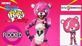 fortnite Cuddle team leader funko pop  flocked gamestop exclusive