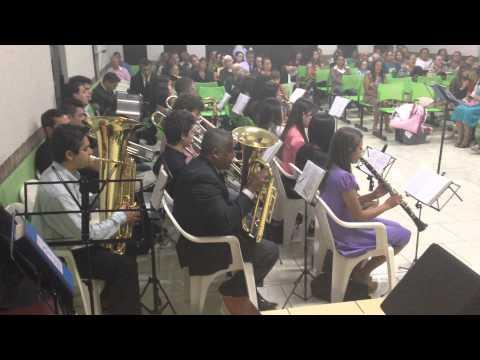 Banda Musical Harmonia Celeste em Braganey 1