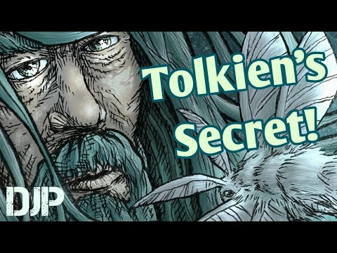 JRR Tolkien's Secret to Productivity! (LOTR Speed Art)