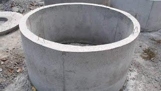 Как сделать бетонное кольцо