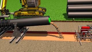 Spülverfahren zur Pipe Side / Flushing Procedure to the pipe side