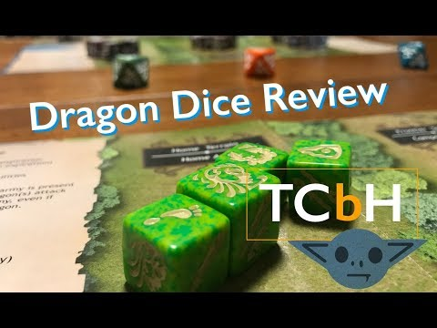 The Cardboard Herald reviews - Dragon Dice (whole game + new(ish) 2p starter)